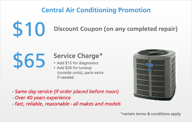 Central pneumatic coupons